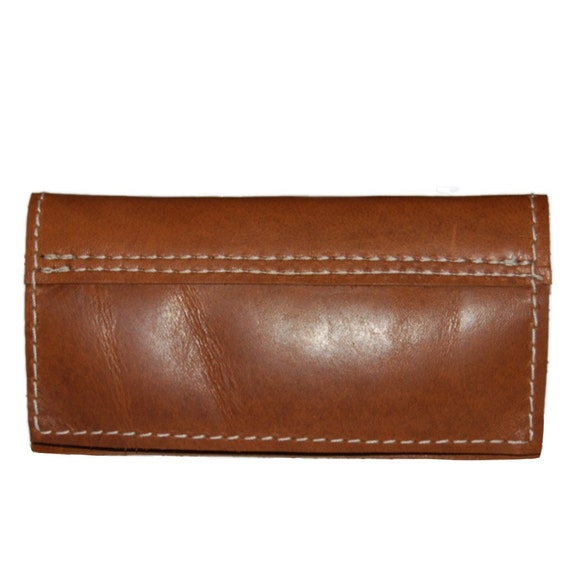 Brown Leather iPhone 4 Wallet