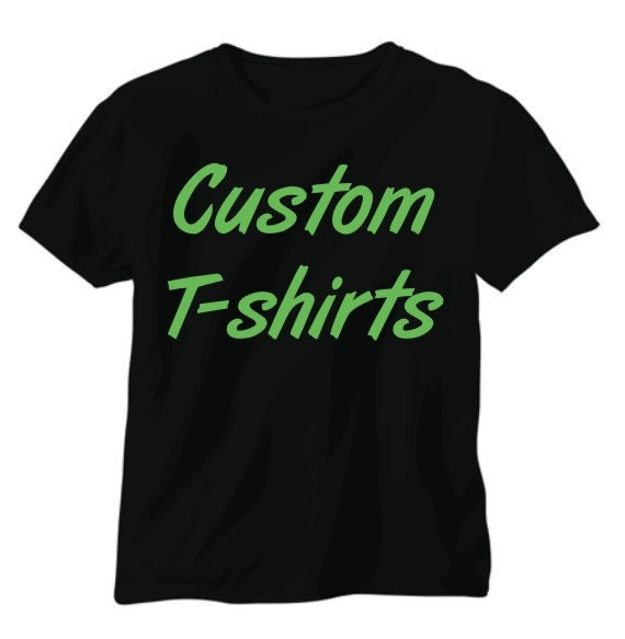 Custom screen printed t shirts promotional products and for Custom printed dress shirts