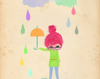 Without Rain-limited edition art print