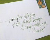 Reserved for Marci-Calligraphy--Sophie Script