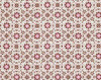 Dena Fishbein, Pretty Little Things, Daisy in Brown, Dena Designs, Quilting Fabric One Yard