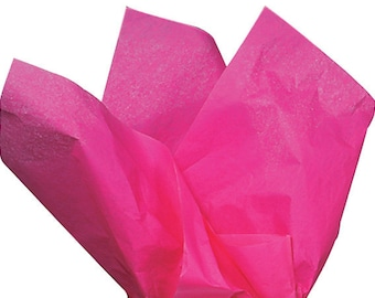 "50 Tissue Paper Sheets, 20"" x 30"" - Hot Pink"