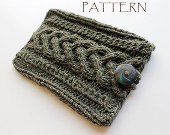 Pattern Knitted Kindle Cover Sleeve