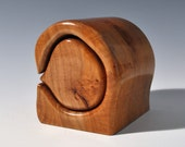Maple jewelry or trinket bandsaw box
