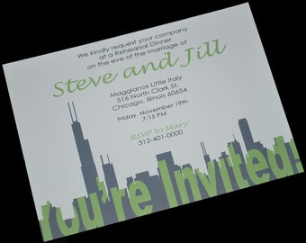 Chicago Invitation Your Invited