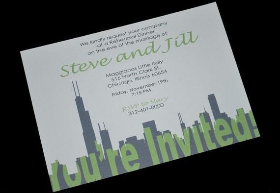 Chicago Invitation Your Invited