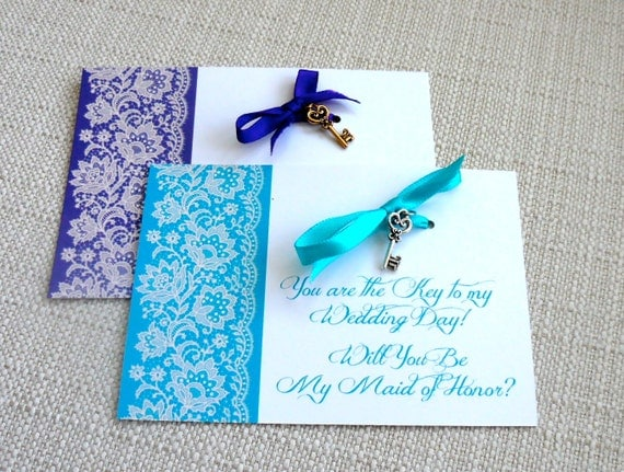 Will You Be My Maid Of Honor Matron Of Honor Personalized