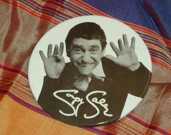 Vintage 1965 Soupy Sales Pinback Button
