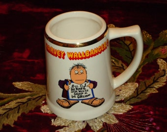 1970s Harvey Wallbanger Mugs