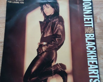 45 RPM Joan Jett and the Blackhearts Record with Picture Sleeve