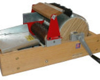 Strauch 200 Series Single Wide Drum Carder Free Shipping And Extras