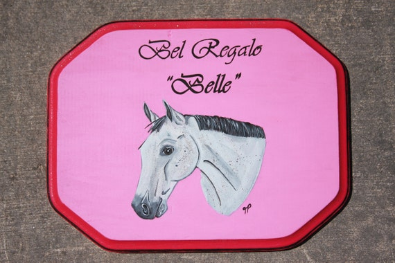 Sign Off Horse Horse Stall Sign ◅ ▻