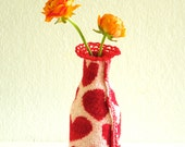 mini vase cover hearts
