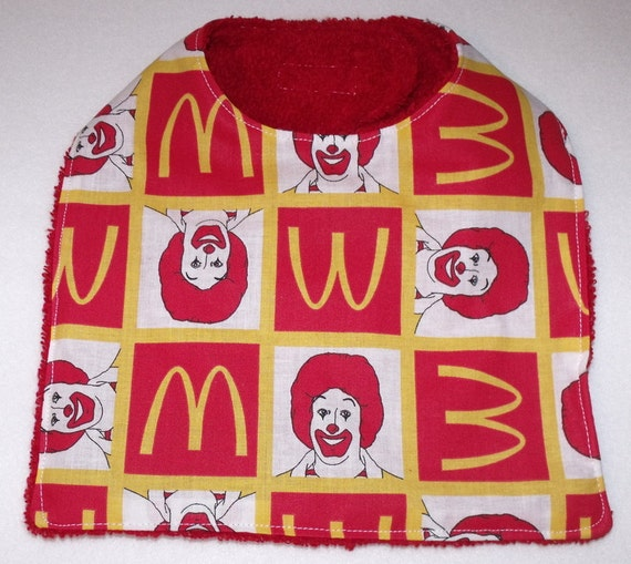 mcdonalds bib High quality mcdonalds inspired kids & babies' clothes by independent artists and designers from around the worldall orders are custom made and most ship worldwide.