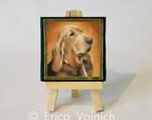 Custom Pet Holiday Ornament - Miniature Portrait
