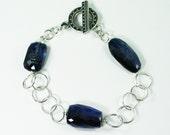 SALE 50% OFF Sterling Kyanite Bracelet