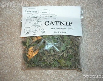 TWO Garden Fresh Bags of Catnip