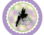 tinkerbell silhouette topper pdf