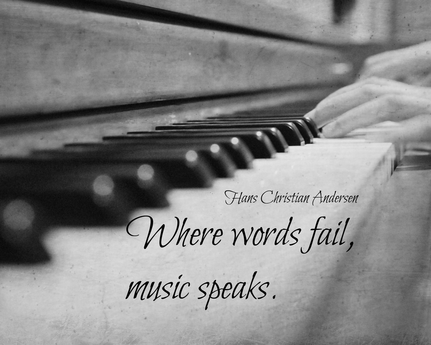 Image result for when words fail music speaks