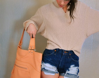 super pale pink sweater, small (bag is currently for sale too in the bags shop section)