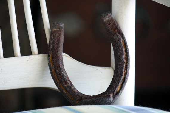 Vintage Rustic Horseshoe Good Luck Country Lucky Home