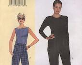 Easy Vogue V7027 V304 Today's Fit Shorts Pants Sandra Betzina Size G-J (Facile Pantalon)
