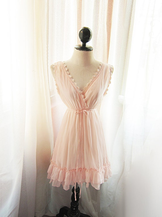 Romantic Angel Pink Petal Dress Soft Misty Nostalgia Dreamy Blush Tea Rose Havisham Mille Feuille Cutouts Chiffon Matron Long Tunic