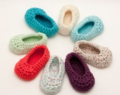 3 Pairs Crochet Baby Shoes