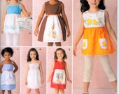 Simplicity Pattern 2167 for Child's  Dresses