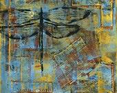 Set Free print of mixed media acrylic painting
