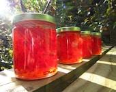 15 PERCENT OFF SALE - Oh My, Such Sweet Heat - Artisan Heirloom Cayenne Jelly - 6oz. Jar