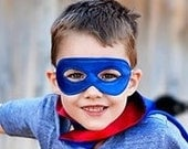 SUPERHERO MASK-super hero child or adult costume mask-matches our capes