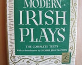 Vintage Book Modern Library Five Great Modern Irish Plays