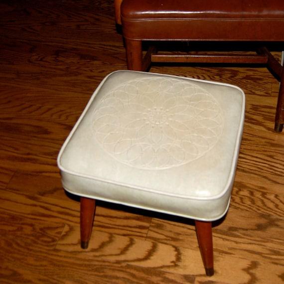 Mid Century Footstool