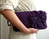 PDF Pattern Crochet Clutch Bag Purse Wristlet