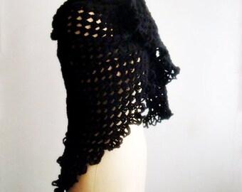 Frida Crochet PATTERN Triangle Scarf, Crochet Shawl Pattern, Wrap Crochet Pattern, 32