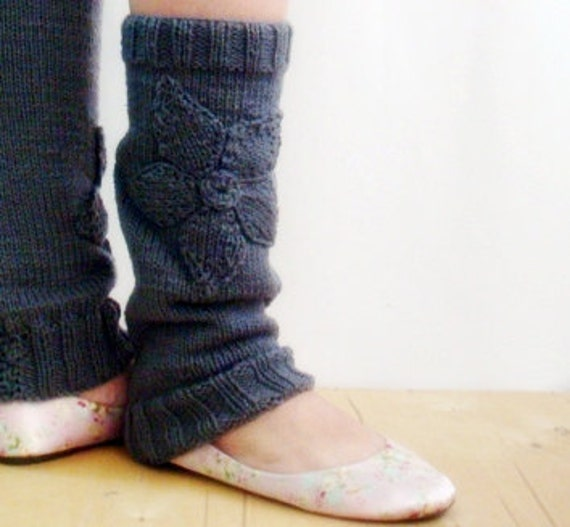 Yoga Leg Warmers Knitting Pattern : Knitting PATTERN Ballet Leg Warmers, Yoga Legwarmers Knitting Pattern, Dancer...
