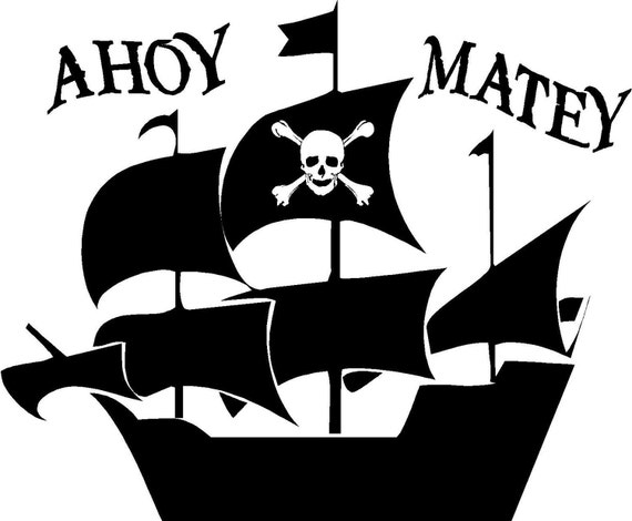 navy say ahoy mateys pirates