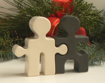 Christmas Gift S&P Mini Sculptures For your Best Friend Lover Teacher Him Her Classic  Shakers Black and White under 50 in time