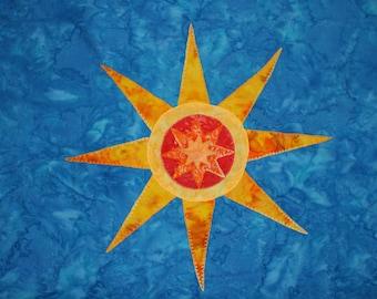 Sun  in the Sky applique