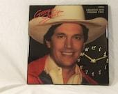 George Strait Album Cover Clock
