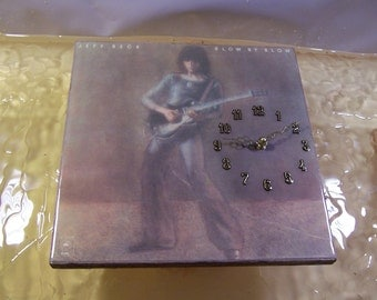 Jeff Beck Blow By Blow Album Cover Clock