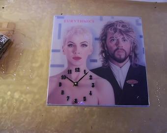 Eurythmics Revenge Album Cover Clock