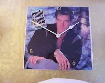 Randy Travis Always and Forever Album Cover Clock