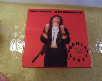 Melissa Ethridge Album Cover Clock