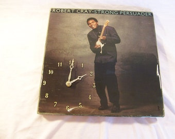 Robert Cray Strong Persuader  Album Cover Clock
