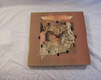 Aerosmith's Toy's In The Attic Album Cover Clock