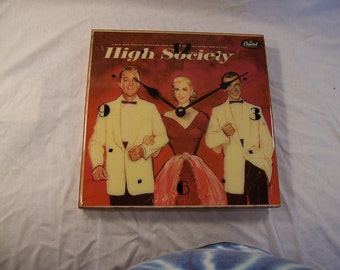 High Society Original Soundtrack Album Cover Clock