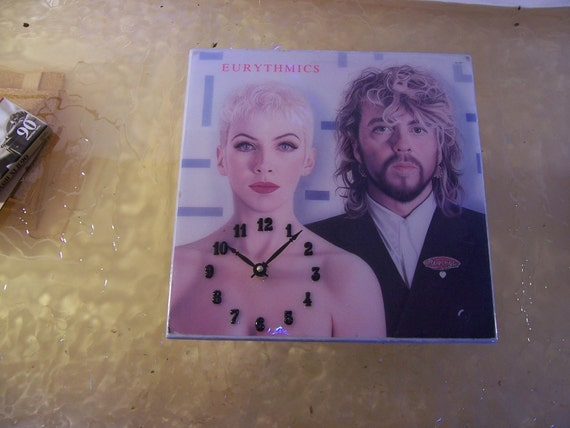 Eurythmics Revenge Album Cover Clock