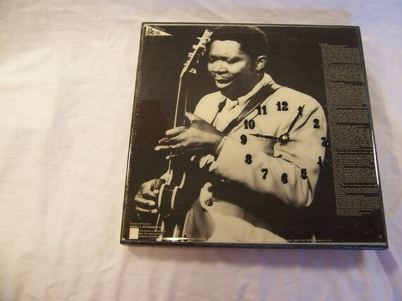 Th Best Of BB King Album Cover Clock